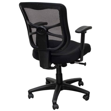 alera elusion series used mesh mid back chair black national office interiors and liquidators