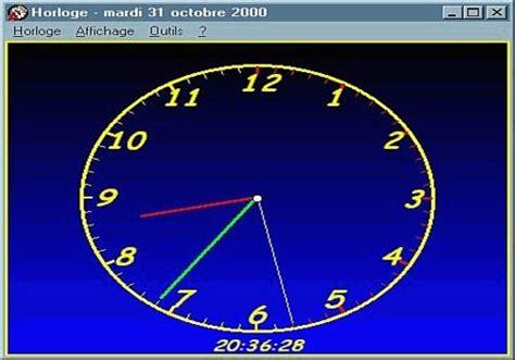 t 233 l 233 charger horloge pour windows