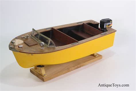 Battery Powered Toy Boat fleet line battery op 50 s boat usa antique toys for sale