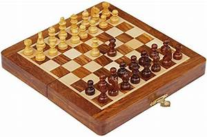 "Best Travel Chess Set - SouvNear 7.5"" Magnetic Folding ..."