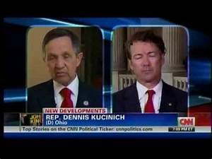 Sen. Rand Paul and Rep. Dennis Kucinich on CNN John King ...
