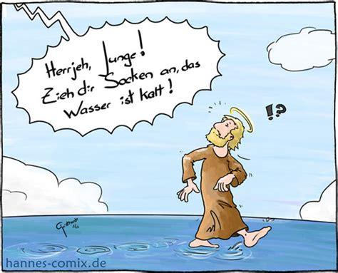 kalte Füße von Hannes  Religion Cartoon TOONPOOL