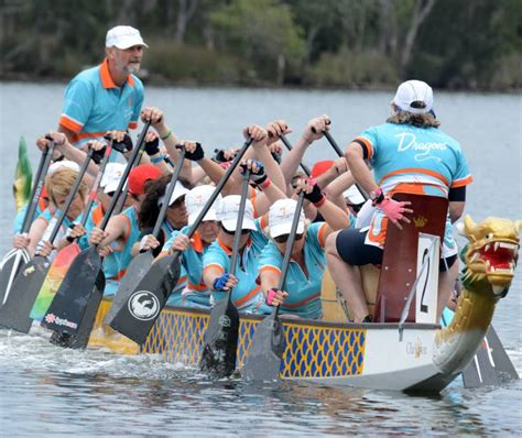 Dragon Boat Racing Coffs Harbour by Dragon Boat Regatta At Taree Manning River Times