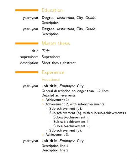 modern cv template free pdf free sles exles format resume curruculum vitae free