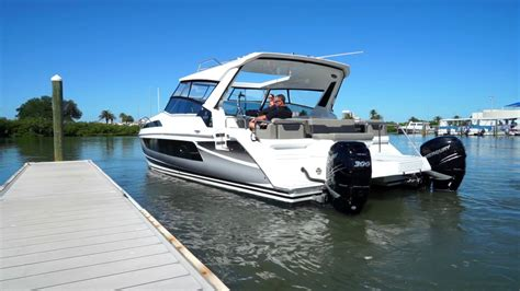 Catamaran Joystick by Introducing Joystick Docking On The All New Aquila 36
