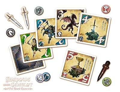 acheter les chevaliers de la table ronde le jeu de cartes jeux pour les initis