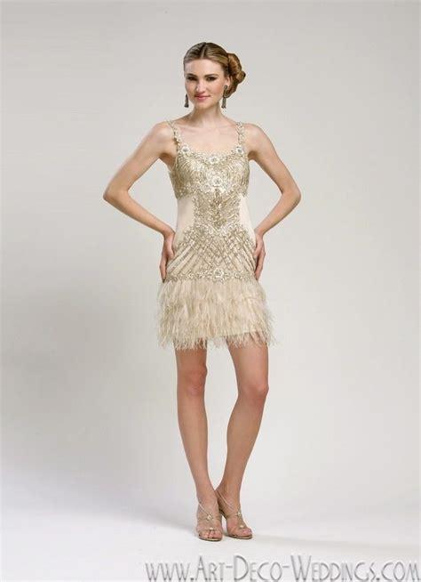 beaded flapper dress sue wong deco weddings