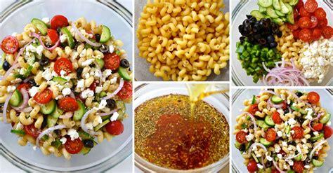 salade de p 226 tes facile 224 la grecque 171 maigrir sans faim