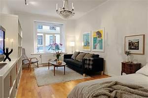 Bett Im Wohnzimmer : 30 kluge wohnideen f r kleine wohnung ~ Markanthonyermac.com Haus und Dekorationen