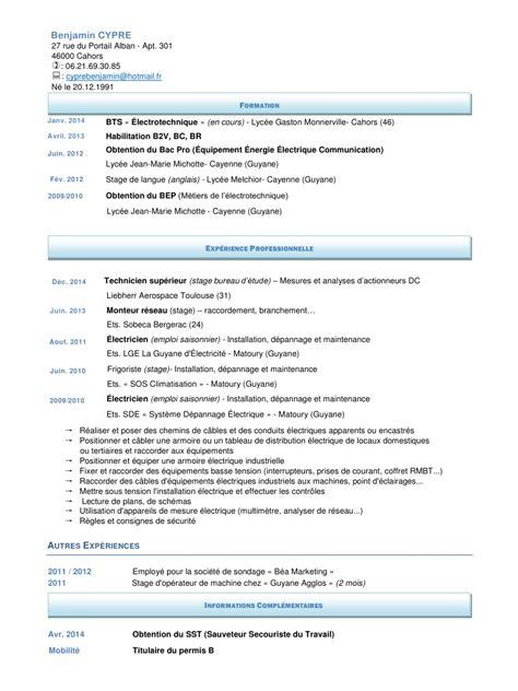 cv cv pdf fichier pdf