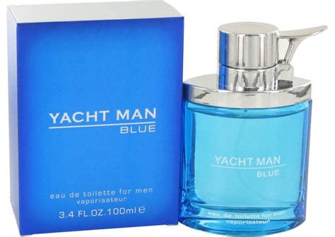 Yacht Man by Yacht Man Blue Cologne For Men By Myrurgia