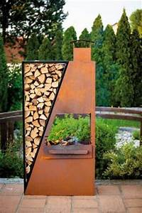 Gas Feuerstelle Outdoor : steel metal chiminea chimenea outdoor wood fire place heater pit chimnea fireplaces ~ Markanthonyermac.com Haus und Dekorationen