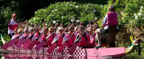Dragon Boat Festival 2017 Portage Lakes by Breast Cancer Survivor Team Races Dragon Boats To Support