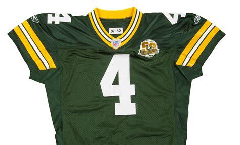 Green Bay Packers 4 Brett Favre Green Jersey