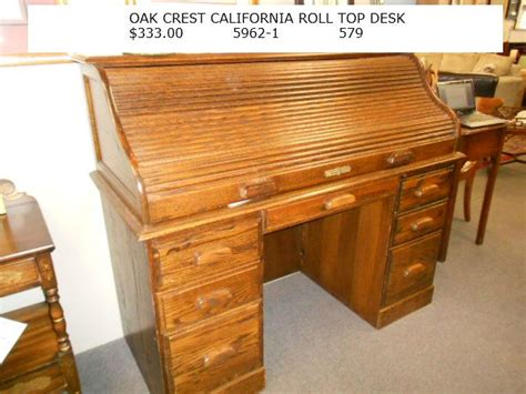 oak crest california roll top desk 333 00 for the home