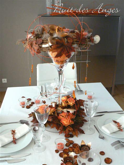 d 233 coration de table automne nuit des anges