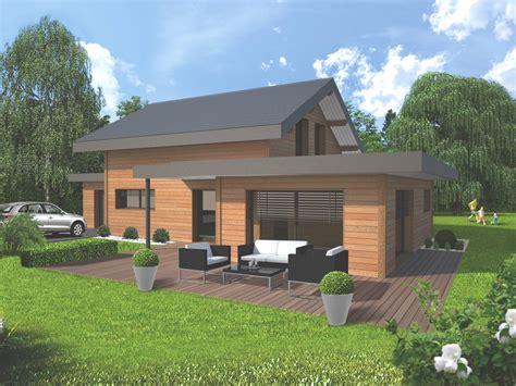 cuisine construction maison bois haute savoie dimension habitat annecy constructeur maison bois