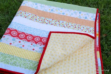 Oh Clementine Jelly Roll Quilt » Loganberry Handmade
