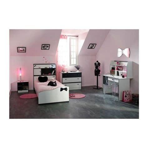 chambre fille avec bureau disco et blanche achat vente chambre compl 232 te chambre fille