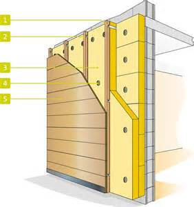 isolation des murs par l ext 233 rieur decoration interieur