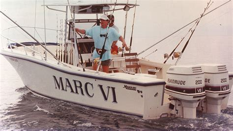 Mako Boats Mark Vi by George Poveromo S World Of Saltwater Fishing Marc Vi