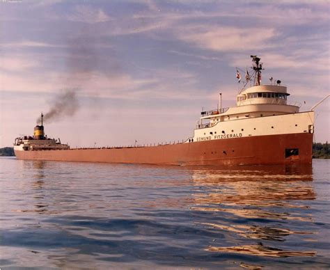 Sinking Of The Ss Edmund Fitzgerald by Today In Labor History November 10th Voices Of Labor