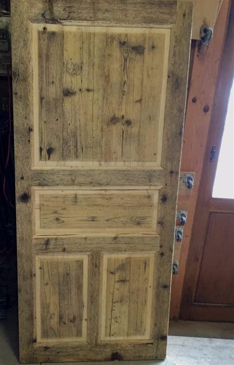 fabriquer une porte en bois exterieur evtod