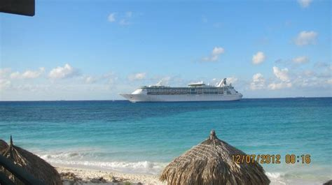 Cruises Including Aruba by Cruise Ship Preparing To Dock In Oranjestad Picture Of