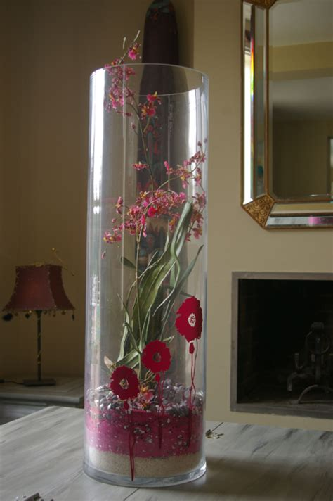 idee deco pour grand vase transparent obasinc