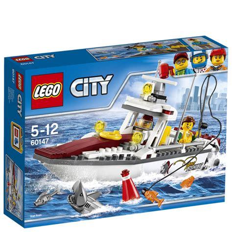 Toy Lego Boat by Lego City Fishing Boat 60147 Toys Zavvi