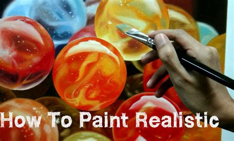 How To Paint Realistic Marbles Using Oil Painting, Time