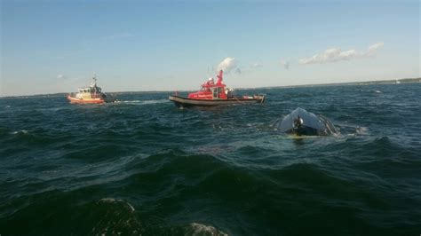 Boating Accident Cape Cod Canal by 12 Rescued After Boat Capsizes In West End Of Cape Cod