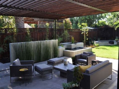 Modern Patio Design, Modern Back Yard Patio Ideas Concrete