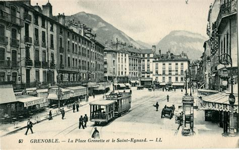 ancien tramway de grenoble