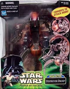 Destroyer Droid Mega Action Figure Star Wars Hasbro