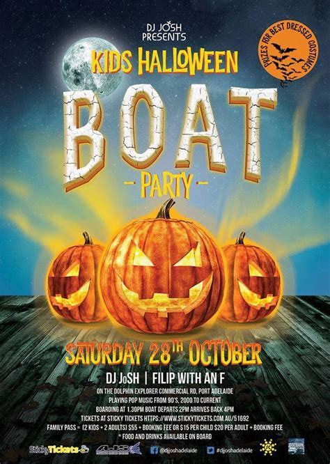Party Boat Adelaide by Kids Halloween Boat Party Port Adelaide Guide
