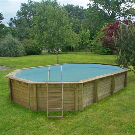 piscine bois semi enterree leroy merlin