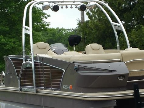 Board Behind Boat by Wakeboard Tower For Pontoon Boats This Is How You Can