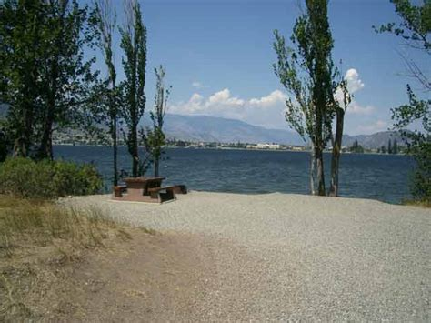 Public Boat Launch Kalamalka Lake by Haynes Point Provincial Park Osoyoos Lake Swimming