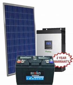 Solar Power Stations - COMPLETE 5KVA PWM OFF GRID SOLAR ...