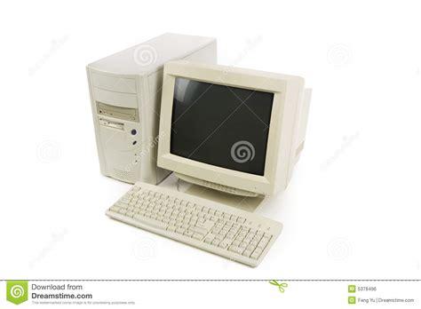ordinateur de bureau image libre de droits image 5378496