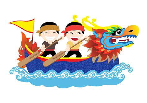 Dragon Boat Festival Vector by Dragon Boat Festival Vector Download Free Vector Art