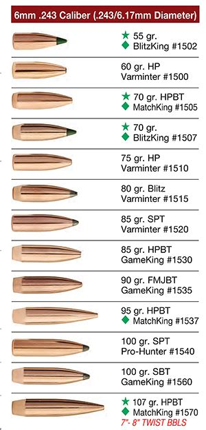 Round Nose Boat Tail by Huntington Die Specialties Bullets Sierra Rifle