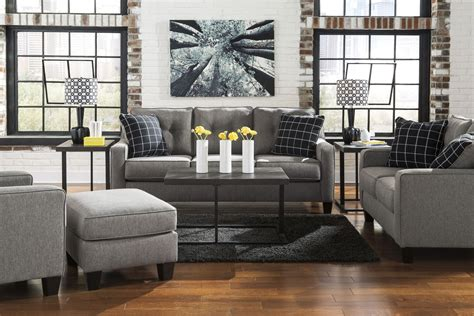 Brindon Charcoal Living Room Set From Ashley (5390138 Yellow Living Room Inspiration Bar At W Hotel Lyrics Jhene Aiko Arranging Furniture With Corner Fireplace And Tv Great Pictures For Wall Murals Uk Best Flooring India Sets Tucson