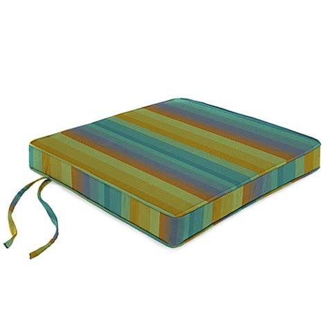 buy 18 inch chair cushion in sunbrella 174 astoria lagoon from bed bath beyond
