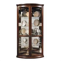 pulaski glass curio cabinet