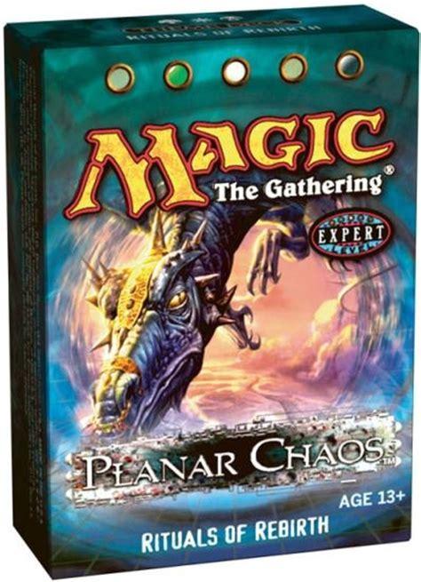 magic the gathering planar chaos rituals of rebirth theme