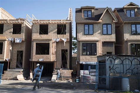 Home Construction : Canadian Home Construction Is Soaring Even More Than House