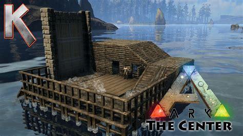 Ark Boat Youtube by Epic Boathouse Build Pooptopia Season2 E4 Ark