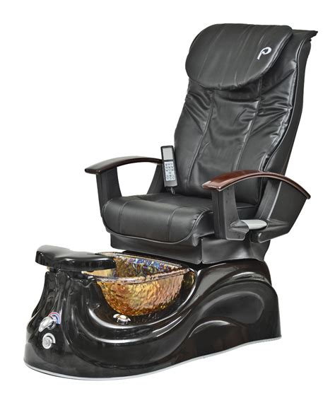 pibbs ps65 san marino pipeless pedicure spa w glass bowl shiatsu